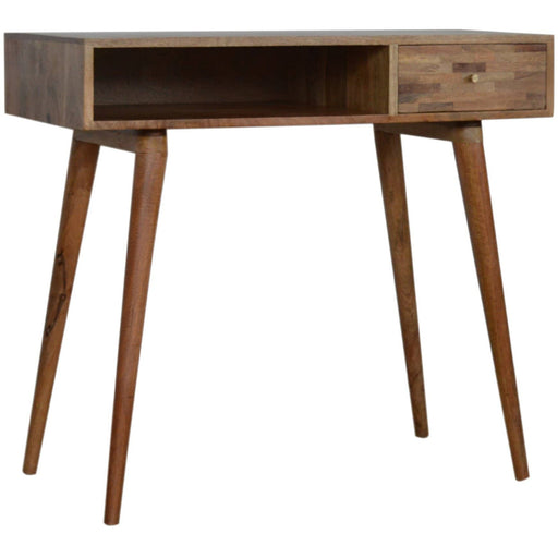 Mixed Oak-ish Writing Desk - Simply Utopia