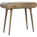 2 Drawer Console Table with Rounded Edges - Simply Utopia