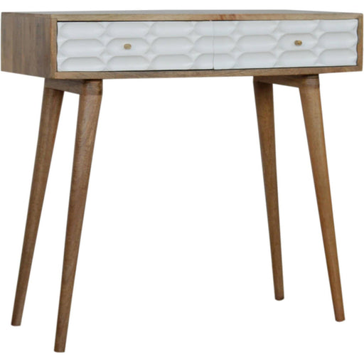 Capsule White Painted Console Table - Simply Utopia