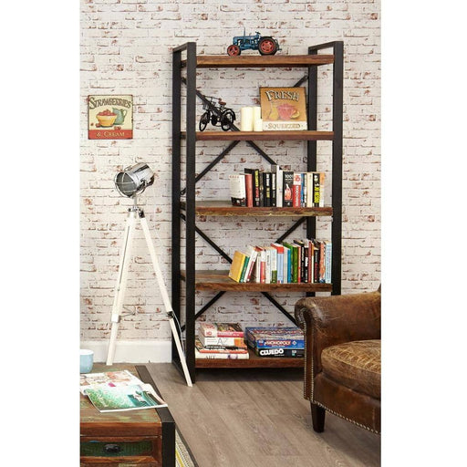 Urban Chic Large Open Bookcase - Simply Utopia