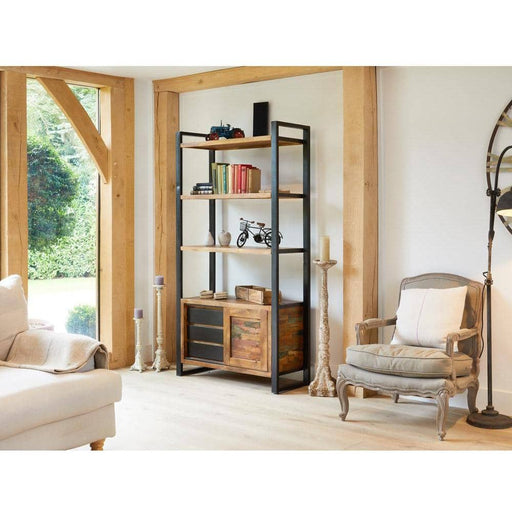 Urban Chic Large Bookcase with Storage - Simply Utopia