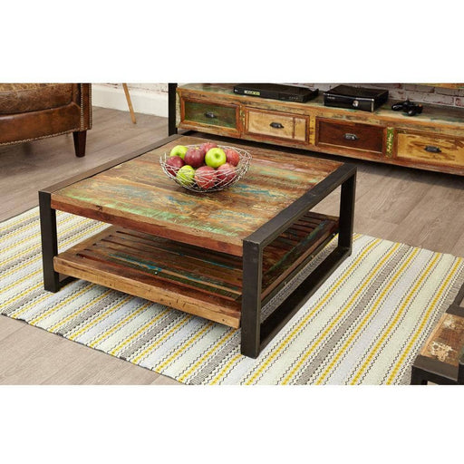 Urban Chic Square Coffee Table - Simply Utopia