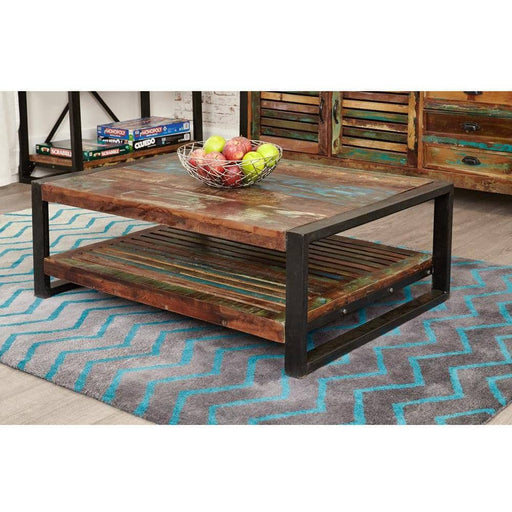 Urban Chic Rectangular Coffee Table - Simply Utopia