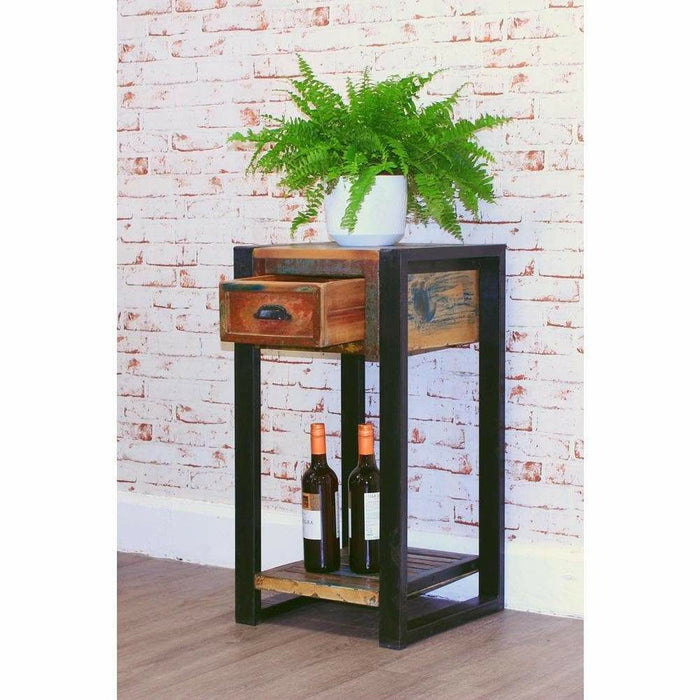 Urban Chic Plant Stand/Lamp Table - Simply Utopia