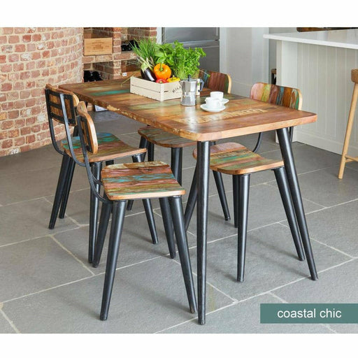 Coastal Chic Small Rectangular Dining Table - Simply Utopia