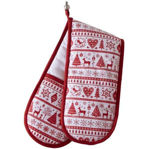 Yuletide Double Oven Glove - Simply Utopia