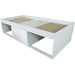Low Single 3ft Cabin Bed WHITE - Simply Utopia