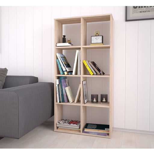 Kidsaw Kudl Home Smart 8 Cubic Section Shelving Unit - Oak - Simply Utopia