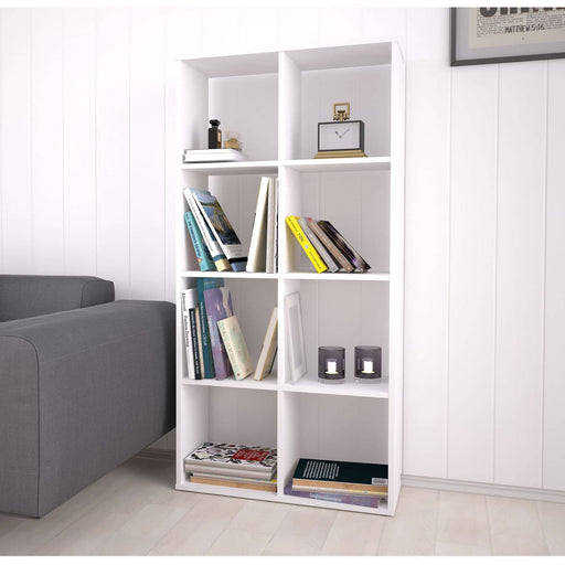 Kidsaw Kudl Home Smart 8 Cubic Section Shelving Unit - White - Simply Utopia