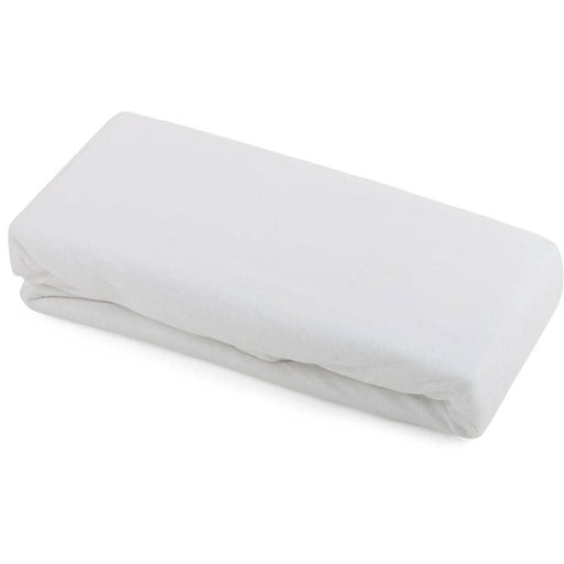Kudl Kids Cotbed 100% Cotton Fitted Sheets Twin Pack White - Simply Utopia