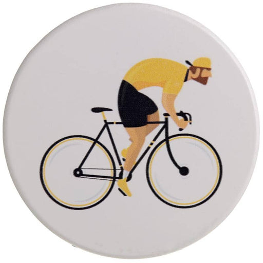 Set of 4 Novelty Coasters - Cycle Works Bicycle - Simply Utopia
