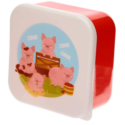 Bramley Bunch Farm Set of 3 Plastic Lunch Boxes - Simply Utopia
