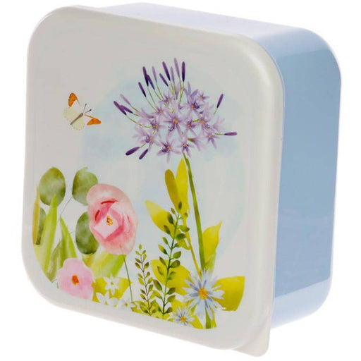 Botanical Gardens Set of 3 Plastic Lunch Boxes (M/L/XL) - Simply Utopia