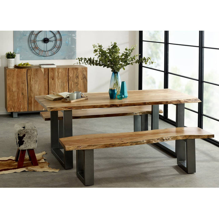 Baltic Live Edge Large Bench - Simply Utopia