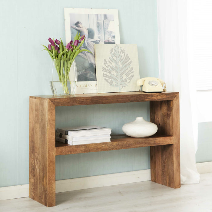 Toko Light Mango Console Table - Simply Utopia