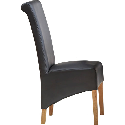 Leather Dining Chair Matching Our Toko Light Range - Simply Utopia