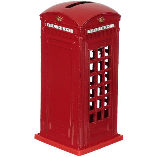 London Souvenir Pencil Money Box - Red Telephone Box - Simply Utopia