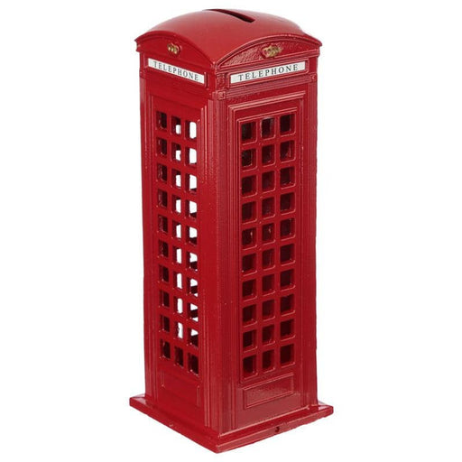 London Souvenir Pencil Money Box - Large Red Telephone Box - Simply Utopia