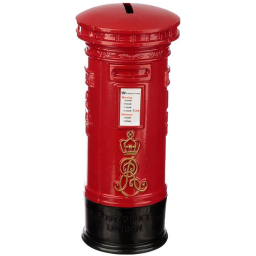 London Souvenir Pencil Money Box - Red Post Box - Simply Utopia