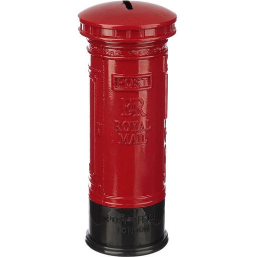 London Souvenir Pencil Money Box - Large Red Post Box - Simply Utopia
