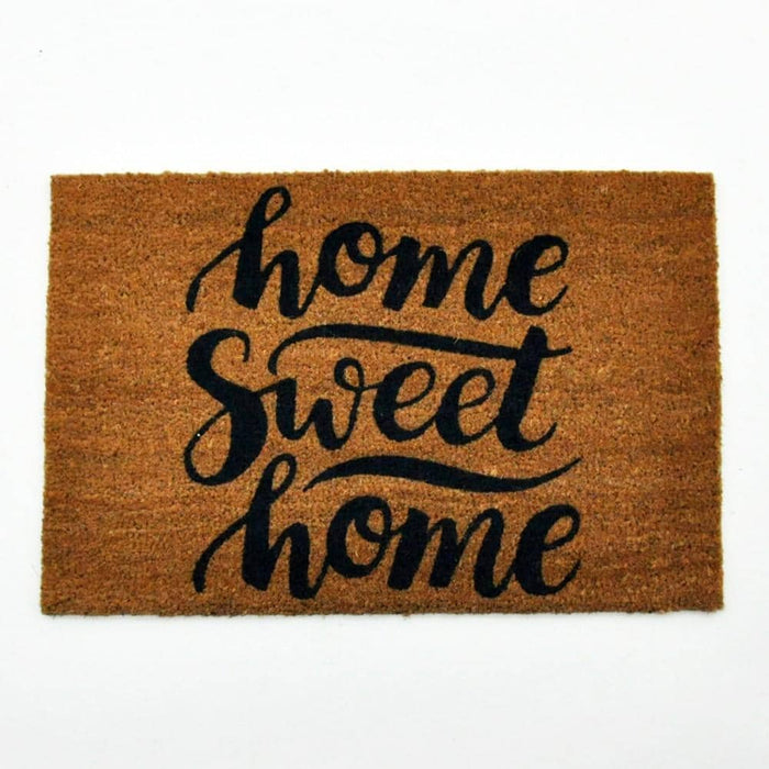 Home Sweet Home Coir Doormat 60cm - Simply Utopia