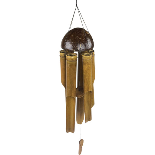 Half Coconut Wind Chime 50cm - Simply Utopia