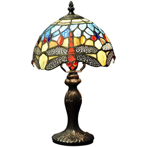 Blue Dragonfly Tiffany Lamp - Simply Utopia