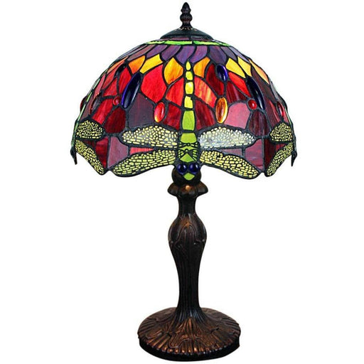 Red Dragonfly Tiffany Lamp 12 - Simply Utopia