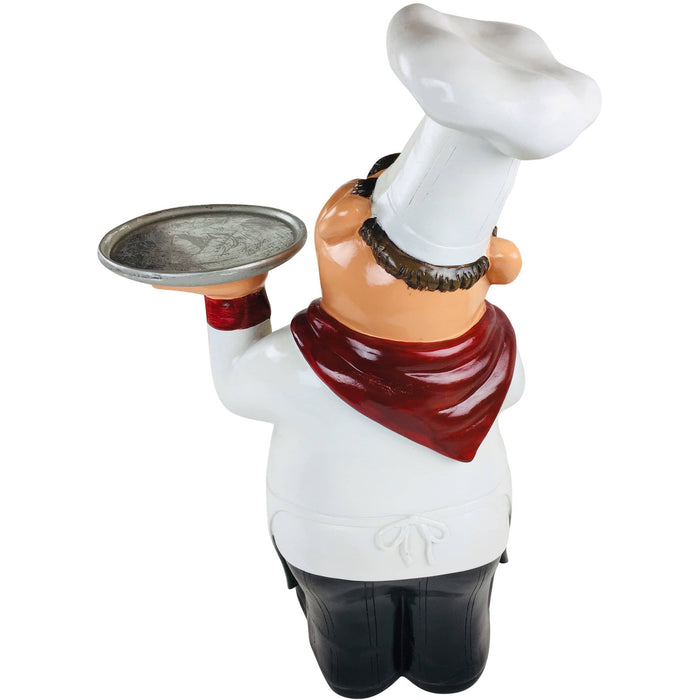 Resin Chef With Tray 62cm - Simply Utopia