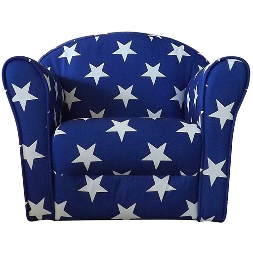 Kidsaw Mini Armchair Blue White stars - Simply Utopia