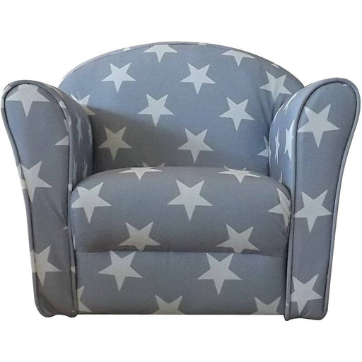 Mini Armchair Grey White stars - Simply Utopia