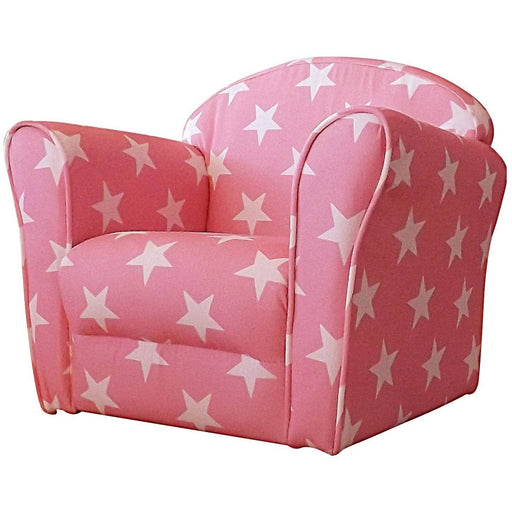 Mini Armchair Pink White Stars - Simply Utopia
