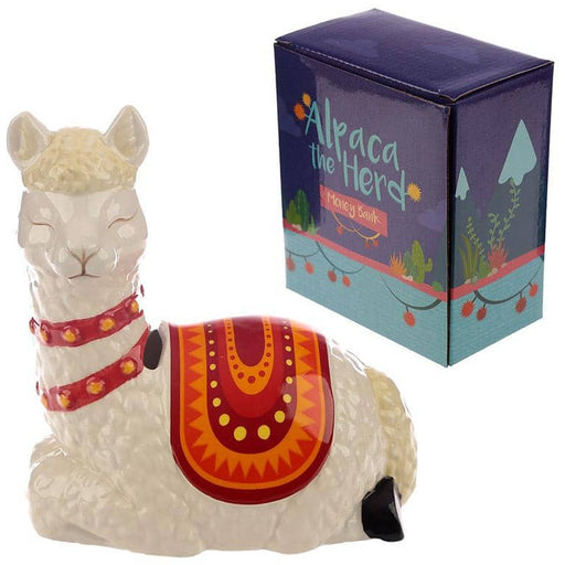 Collectable Ceramic Alpaca Shaped Money Box - Simply Utopia