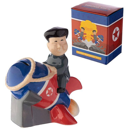 Collectable Ceramic Rocket Man Money Box - Simply Utopia