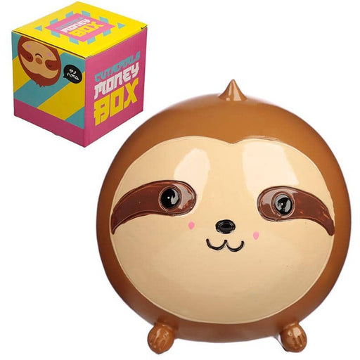 Cute Collectable Sloth Money Box - Simply Utopia