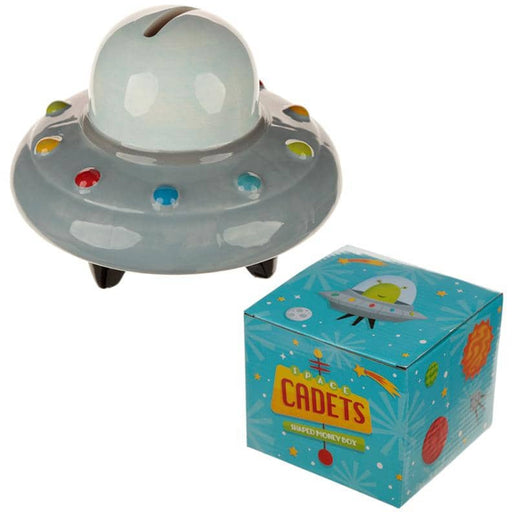 Collectable Ceramic Space Ship Money Box - Simply Utopia
