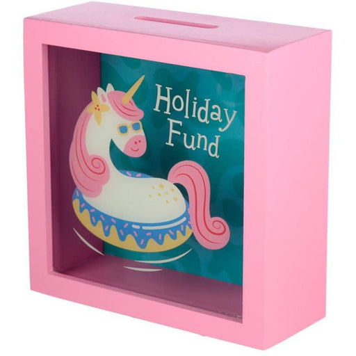 See Your Savings Money Box - Vacation Vibes Unicorn - Simply Utopia