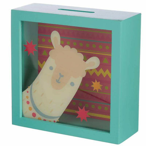 See Your Savings Money Box - Llama Design - Simply Utopia
