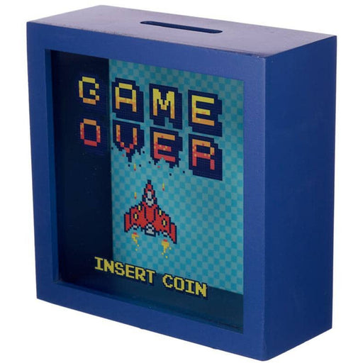 See Your Savings Money Box - Retro Gaming Design - Simply Utopia
