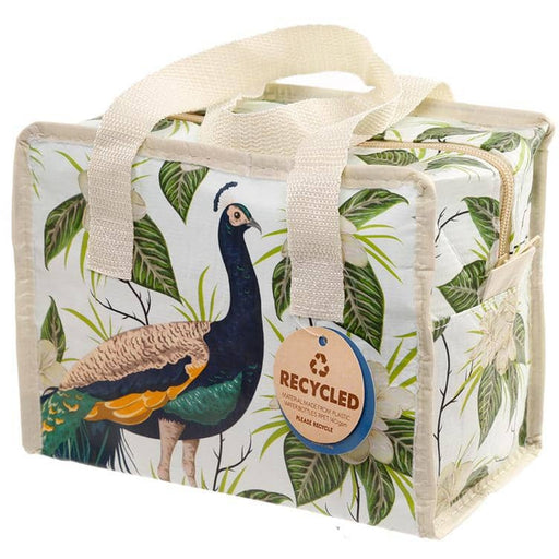 Peacock Zip Up Lunch Bag - Simply Utopia