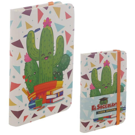 A6 Collectable Hardback Notebook - Cactus Design - Simply Utopia