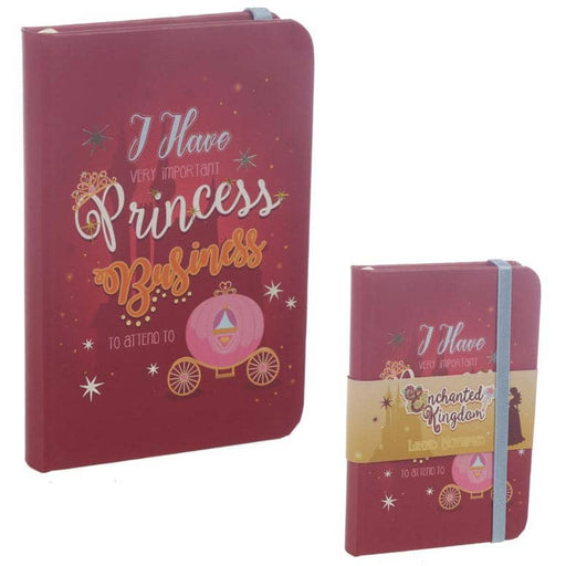 A6 Collectable Hardback Notebook - Princess Slogan - Simply Utopia