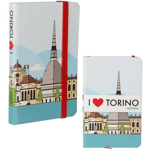 Collectable Hardback Notebook - I Heart Torino - Simply Utopia