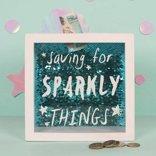 Saving For Sparkly Things Money Box - Simply Utopia