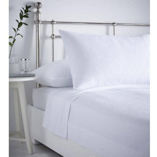 Plain Flannelette Fitted Sheet - Simply Utopia