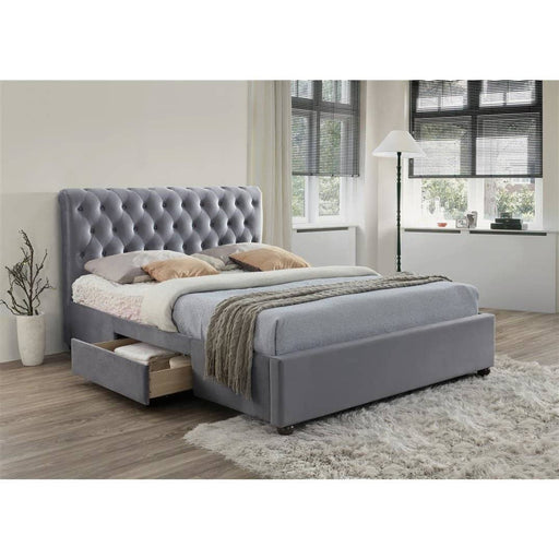 Marlow Fabric Storage Bed - Simply Utopia