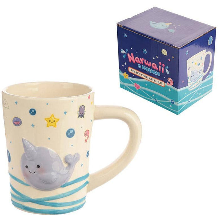 Cute Collectable Narwhal Ceramic Mug - Simply Utopia