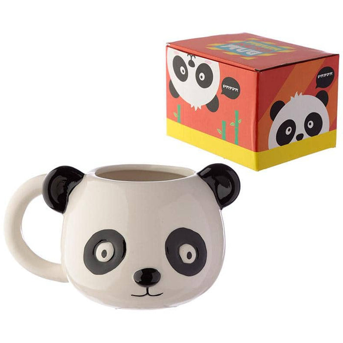Ceramic Animal Shaped Head Mug - Panda - Simply Utopia