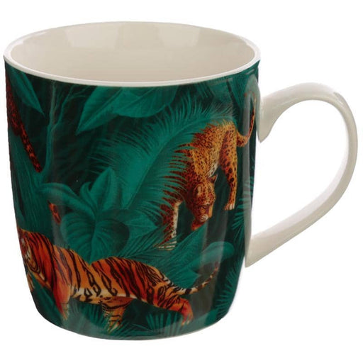 Collectable Porcelain Mug - Big Cat Spots and Stripes - Simply Utopia