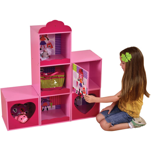 Fashion Girl Shelf and Stacking Storage Units - Simply Utopia